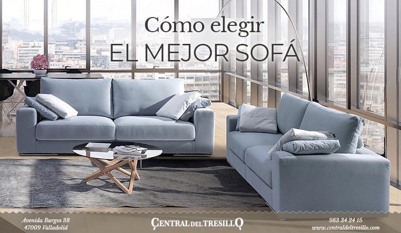 Cómo elegir el mejor sofá