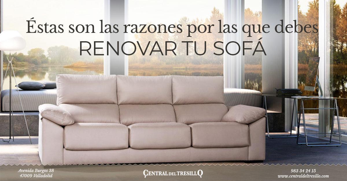 Motivos por los que renovar tu sofá