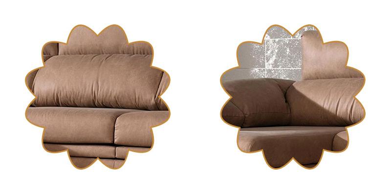 sofá de algodón