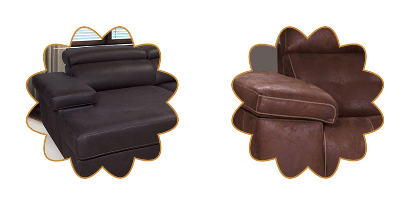 sofá piel natural
