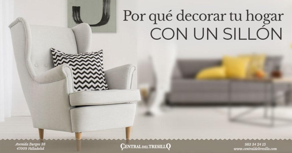 por qué decorar tu hogar con un sillón