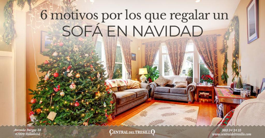 por que regalar sofá en navidad