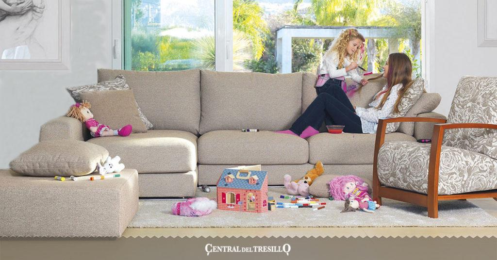cuidar sofá familia