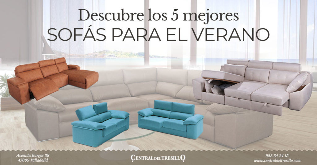 mejores sofás para verano