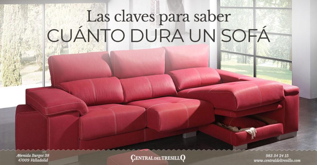 cuanto dura un sofa