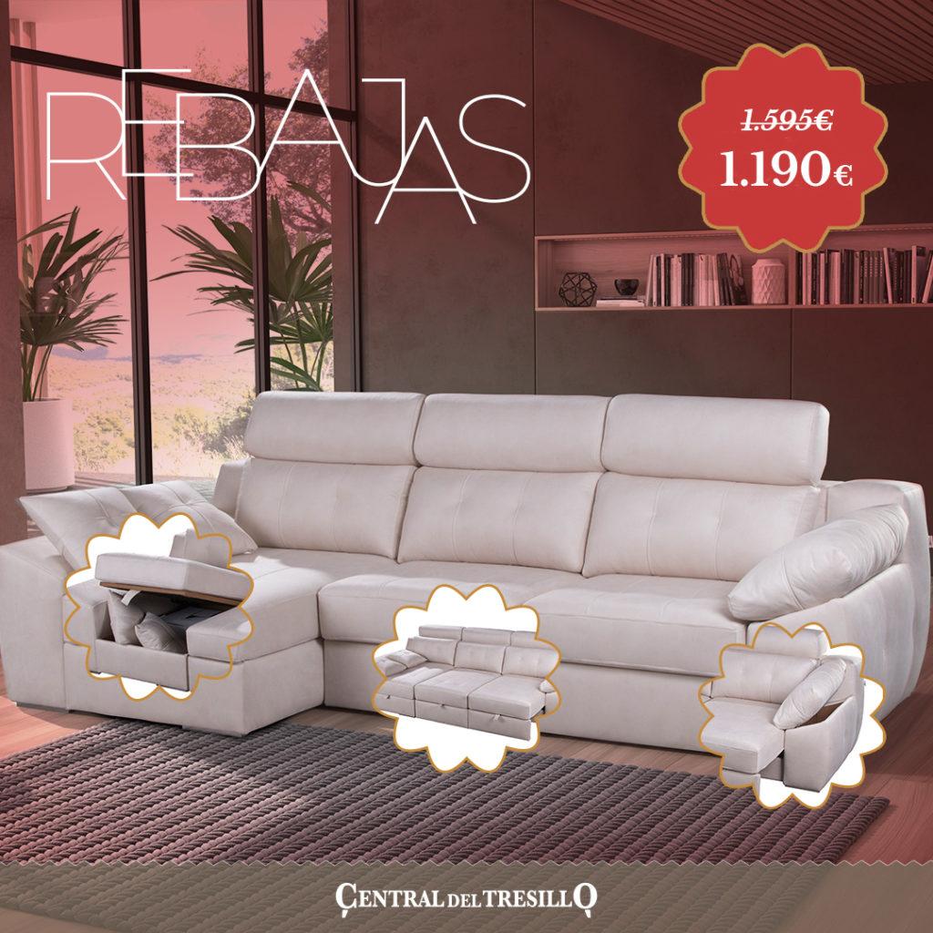 sofa cama chaise longue rebajas