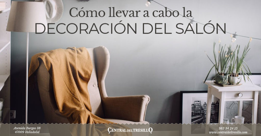 como decorar un salón