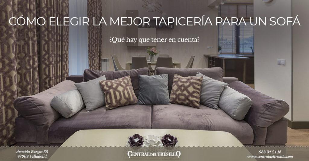 Como elegir tapicería para sofás