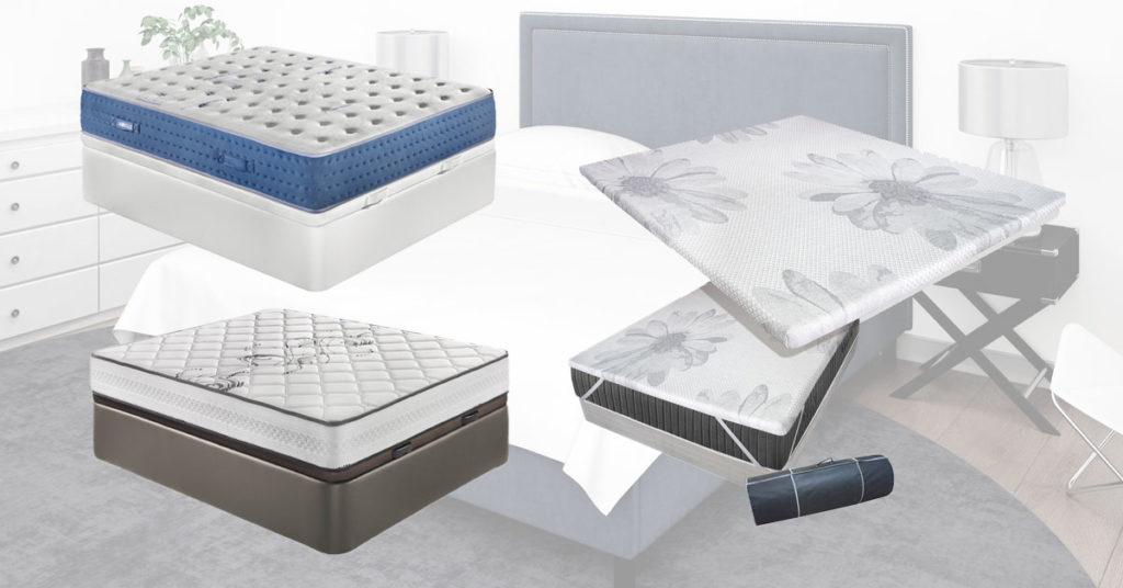 tipos de camas con canapé