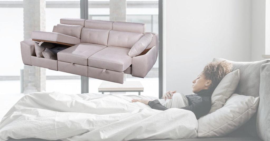 siesta en sofá o cama